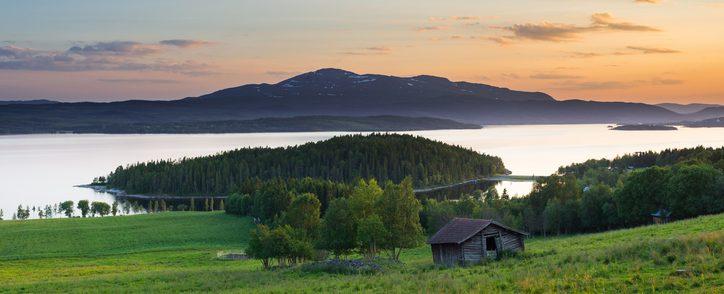 Vacker natur finns i Jämtland